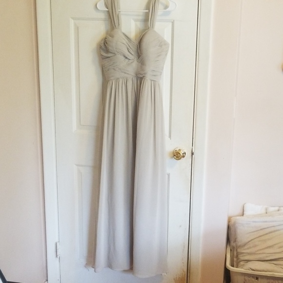 revelry Dresses & Skirts - Revelry prom/bridesmaid gown size 6 taupe/gray